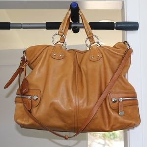 Beautiful DKNY Overnight Weekend Large Bag Brown